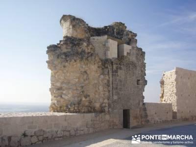 Íscar - Ruta de castillos - Castillos Valladolid - Castillos Segovia - Castillo Iscar; calzado trek